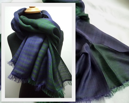 7ca6e8fa3 Coco is a chic and elegant lightweight pashmina shawl that takes you  effortlessly from day to evening wear. The light weight weave is in dark  greens and ...